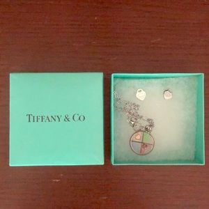 Authentic never used Tiffany and Co pendent